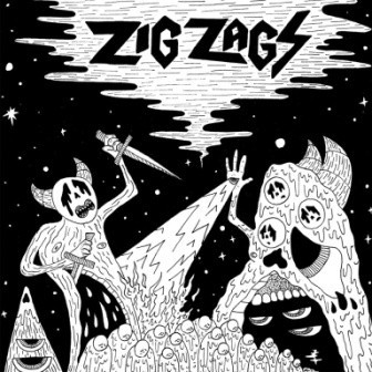 ZIG ZAGS, scavenger cover