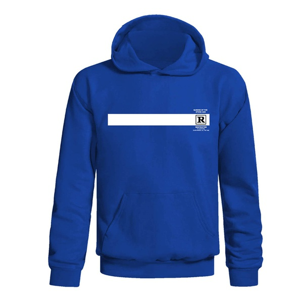 QUEENS OF THE STONE AGE, rated r (boy) hoodie blue cover