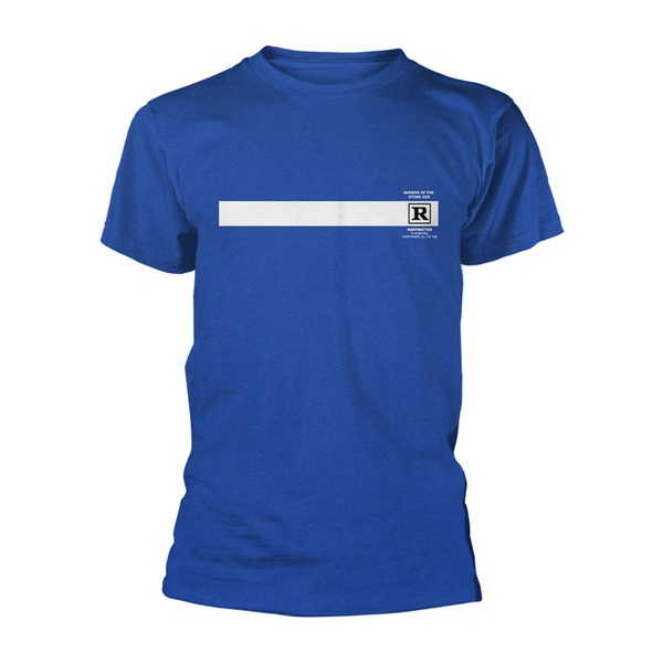 QUEENS OF THE STONE AGE, rated r (boy) blue cover