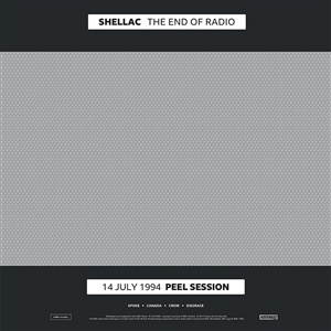 Cover SHELLAC, the end of radio
