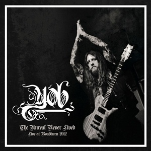 YOB, the unreal never lived - live at roadburn 2012 cover