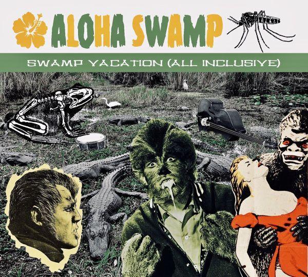 ALOHA SWAMP, swamp vacation cover