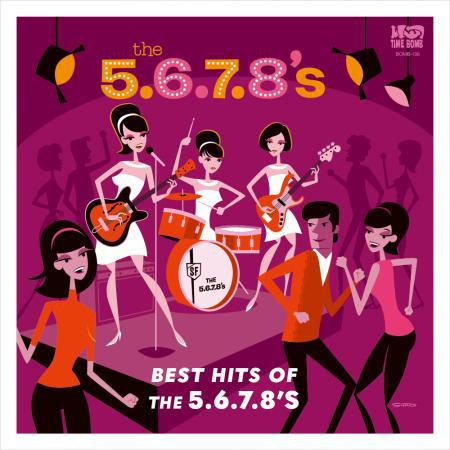 5.6.7.8.´s, best hits of the 5678s cover