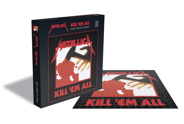 METALLICA, kill em all (500 piece jigsaw puzzle) cover