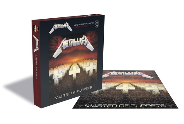 METALLICA, master of puppets (500 piece jigsaw puzzle) cover