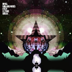 NOEL GALLAGHER`S HIGH FLYING BIRDS, black star dancing ep cover
