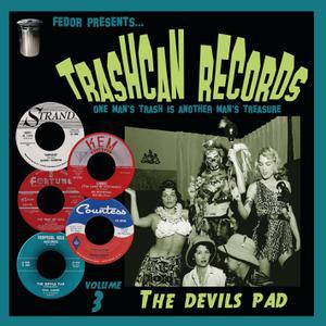 V/A, trashcan records 03 - the devils pad cover