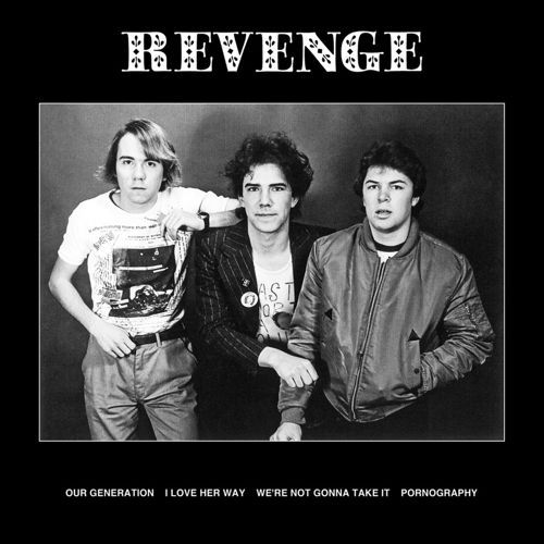 "REVENGE, four song 12"" ep cover"