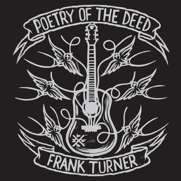 Cover FRANK TURNER, poetry of the deed - 10th anniversary edition