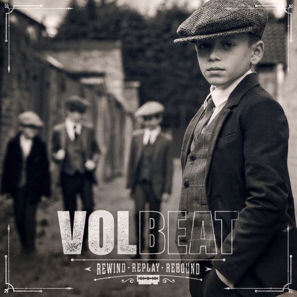 VOLBEAT, rewind, replay, rebound cover