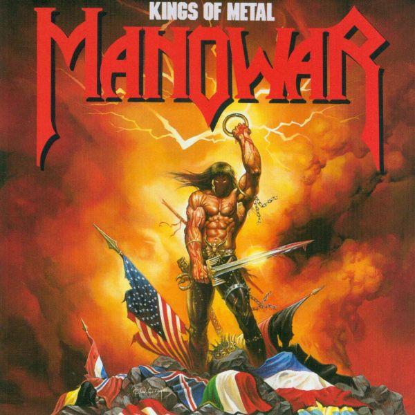 MANOWAR, kings of metal cover