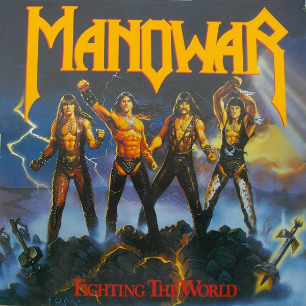 MANOWAR, fighting the world cover