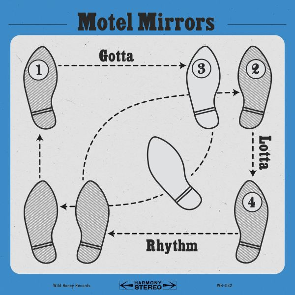MOTEL MIRRORS, gotta lotta rhythm cover