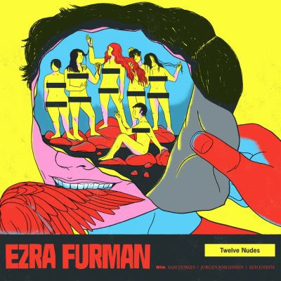 EZRA FURMAN, twelve nudes cover