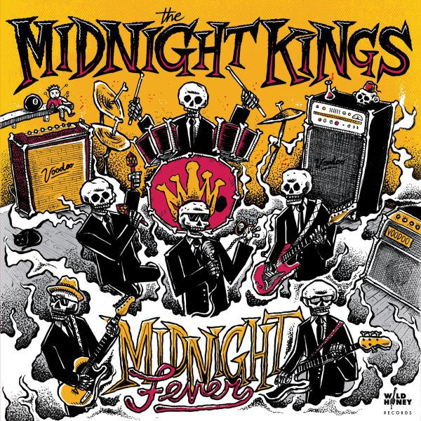 MIDNIGHT KINGS, midnight fever cover