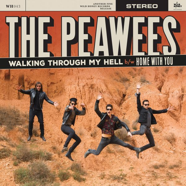 Cover PEAWEES, walking through my hell