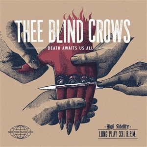 BLIND CROWS, death awaits us all cover
