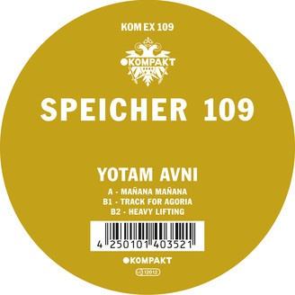 YOTAM AVNI, speicher 109 cover