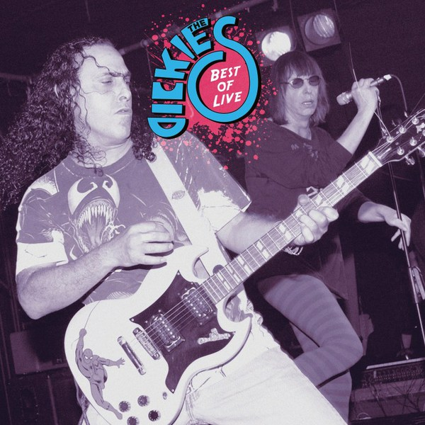 Cover DICKIES, best of live