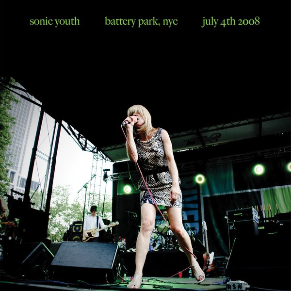 Cover SONIC YOUTH, battery park nyc 2008