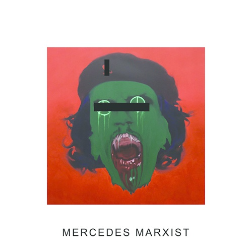Cover IDLES, mercedes marxist