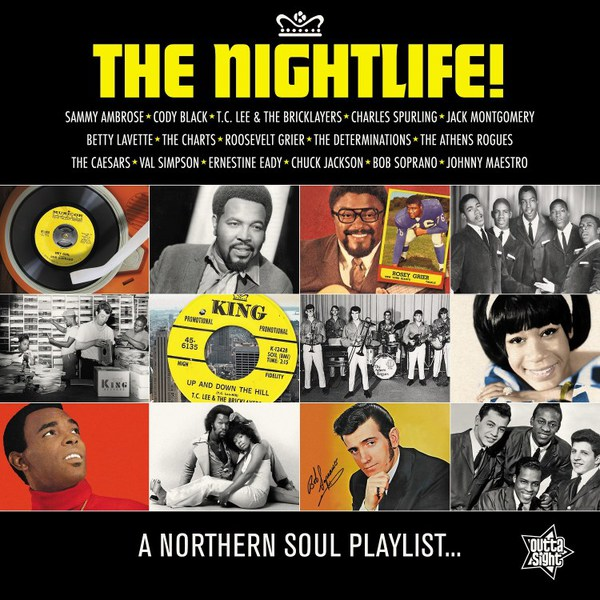 V/A, the nightlife! -  a northern soul playlist... cover