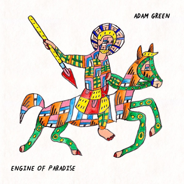 Cover ADAM GREEN, engine of paradise