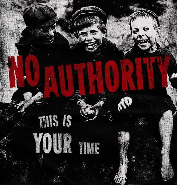Cover NO AUTHORITY, this is your time