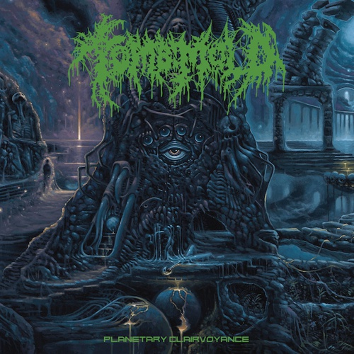 TOMB MOLD, planetary clairvoyance cover