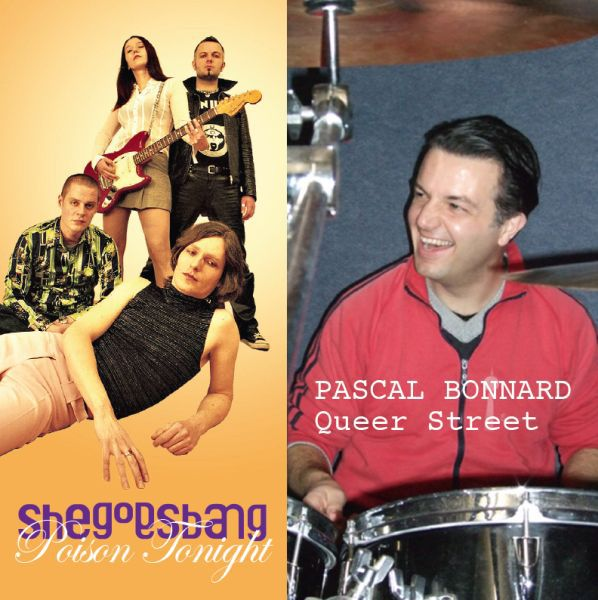 Cover PASCAL BONNARD / SHEGOESBANG, split