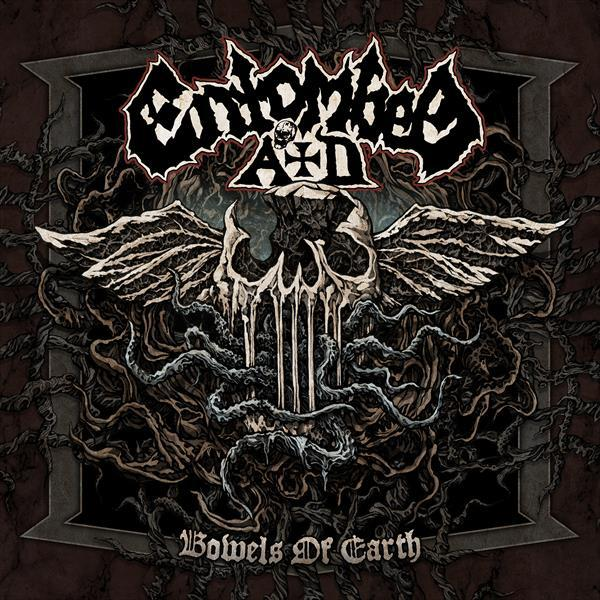 ENTOMBED A.D., bowels of earth cover