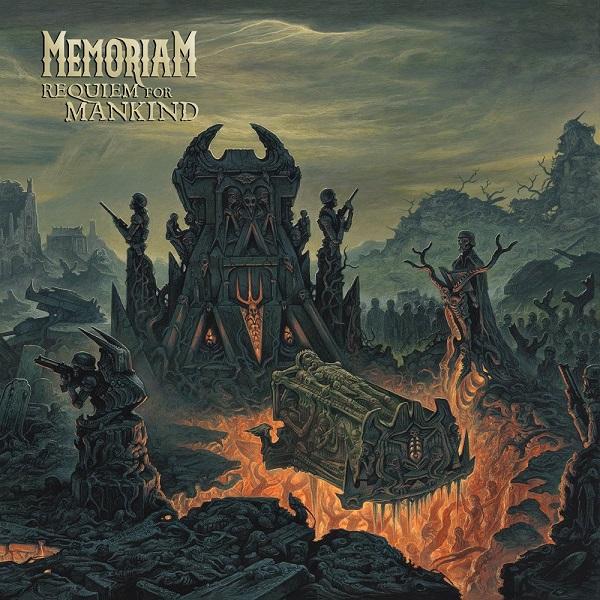 MEMORIAM, requiem for mankind cover