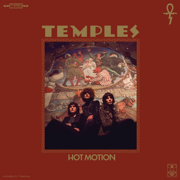 TEMPLES, hot motion cover
