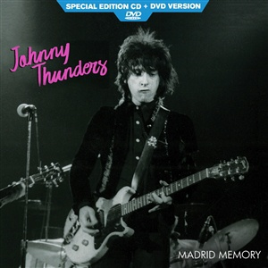 JOHNNY THUNDERS, madrid memory cover