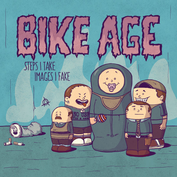 Cover BIKE AGE, steps i take