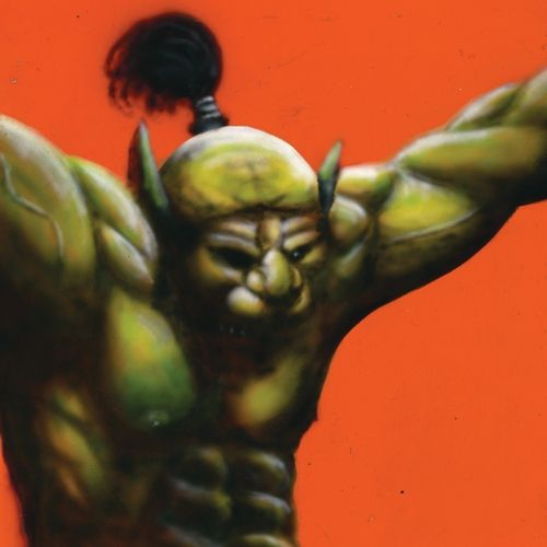 OH SEES, face stabber cover