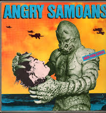 Cover ANGRY SAMOANS, back from samoa