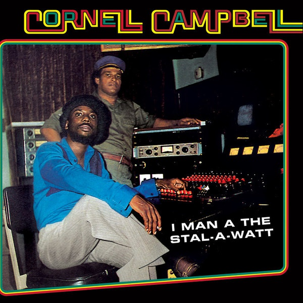 CORNELL CAMPBELL, i man a the stal-watt cover