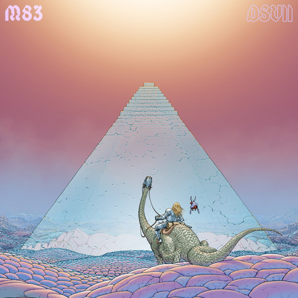 M83, digital shades vol. 2 cover