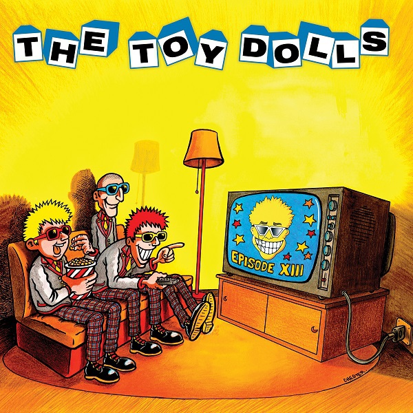 Cover TOY DOLLS, episode XIII