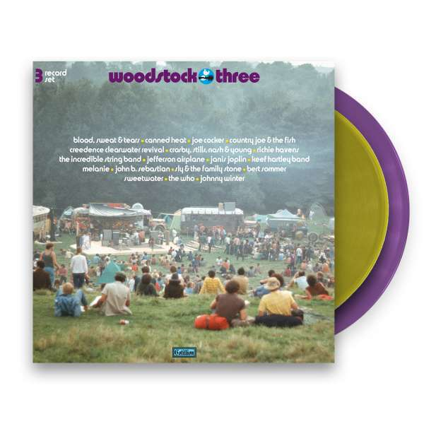 V/A, woodstock three cover