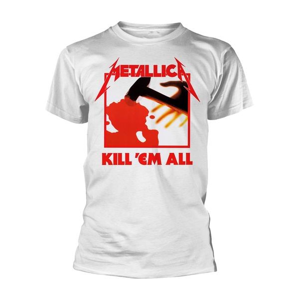 METALLICA, kill em all (boy) white cover