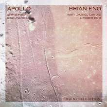 BRIAN ENO, apollo: atmospheres and soundtracks cover