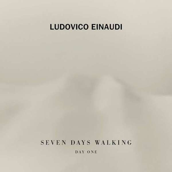 LUDOVICO EINAUDI, 7 days walking - day 1 cover