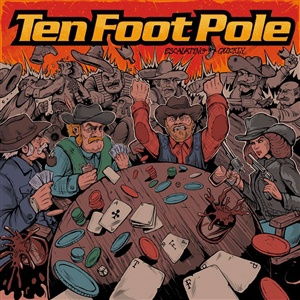 TEN FOOT POLE, escalating quickly cover
