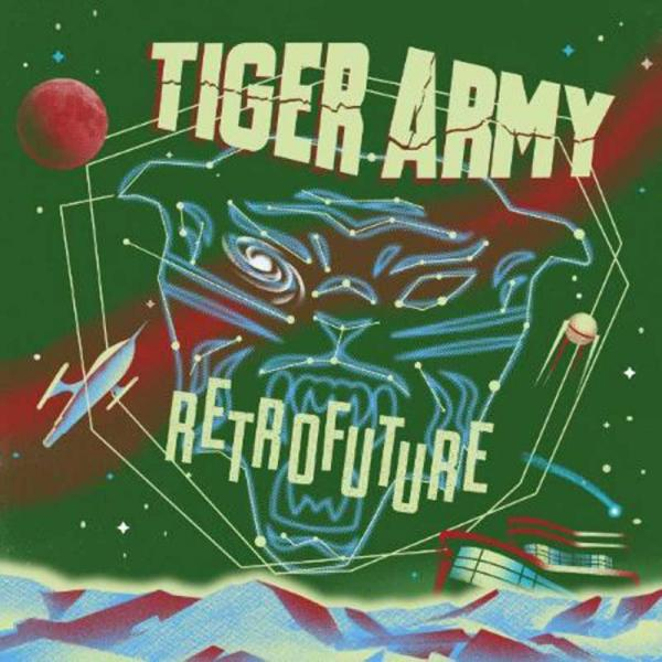 TIGER ARMY, retrofuture cover