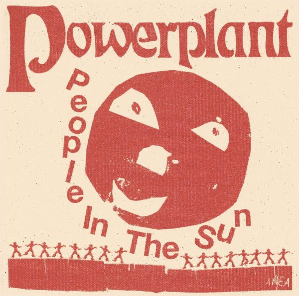 POWERPLANT, people in the sun cover
