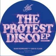 HANS NIESWANDT FEAT. ERIC D. CLARK, the protest disco ep cover