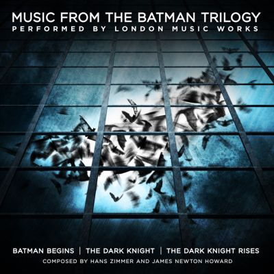 O.S.T. (HANS ZIMMER/JAMES NEWTON HOWARD), music from the batman triology cover