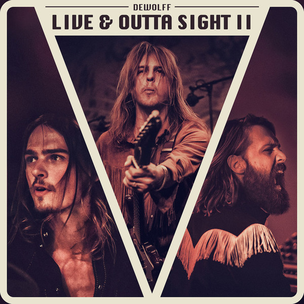 DEWOLFF, live & outta sight II cover